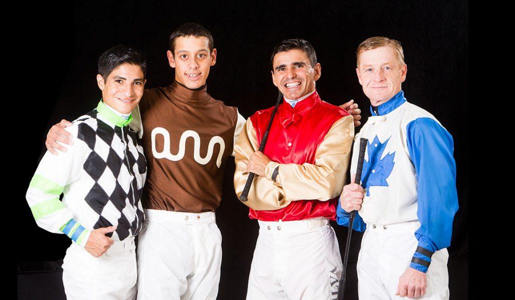 4 jockeys