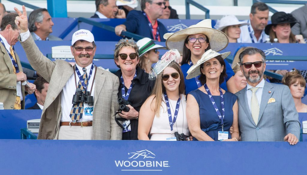 Woodbine crowd